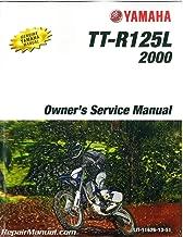 LIT-11626-13-51 2000-2003 Yamaha TT-R 125 Motorcycle Service Manual