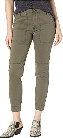 Patch Pocket Twill Pants