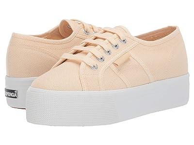 Superga 2790 Acotw Platform Sneaker (Beige Ecru) Women