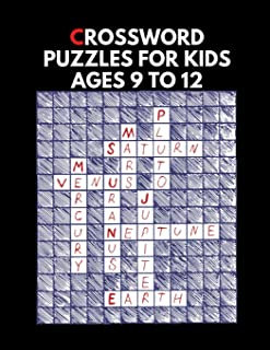 Crossword Puzzles For Kids Ages 9 To 12: Crossword Puzzle Dictionary 2019 Paperback , Worlds Biggest Crossword , Easy Crossword Puzzle Books For Adults Large Print
