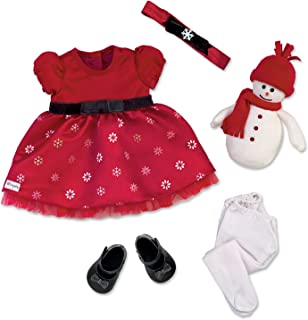 The Ashton-Drake Galleries Holiday Celebration 6 Piece So Truly Mine Baby Doll Accessory Set by