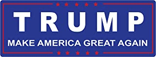Trump Making America Great Again - Bumper Sticker Window Decal Vinyl - Donald for Presidential Election 2016