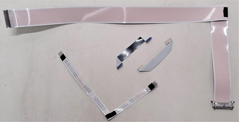 Replacement Complete LVDS Flex Cable Set V Max 62% OFF Model Vizio TV 4 New sales for