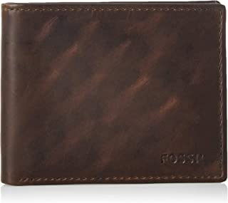Fossil Derrick Bifold Brown Wallet - MLG0651201
