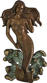Mermaid Door Knocker Made in Brass Metal for Your Door