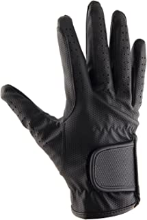 Synthetic Leather Equestrian Horse Riding Gloves for Kids Children and Youth