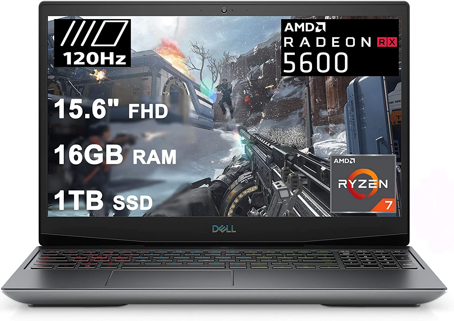 Dell Flagship G5 15 Special Edition Gaming Laptop 15.6