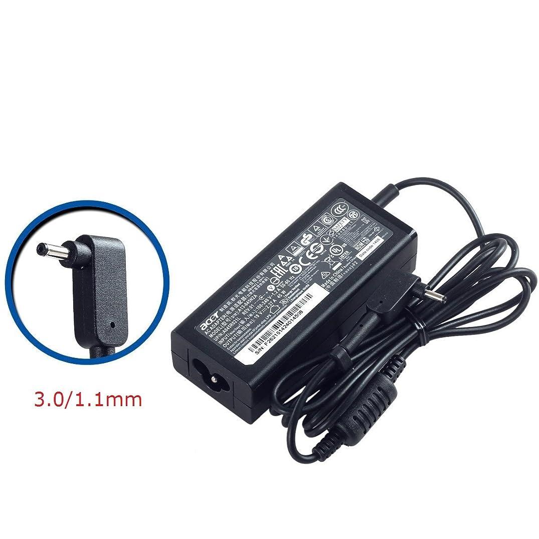 SANISI ACER 19V 2.37A 45W 3.0/1.1mm Small Pin AC Adapter for ACER Aspire One Cloudbook AO1-131 AO1-131 AO1-431 Chromebook 11 C730 Chromebook R 11 C738T Chromebook 13 C810