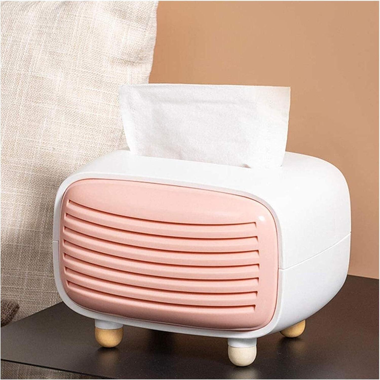 Cecorative tissue box Easy-to-use Facial Tissue Holder Napkin Box Rectangul Dedication