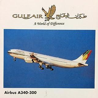 Herpa Wings A340-300 Gulf Air #504560 / ヘルパ 1/500 ガルフ・エア