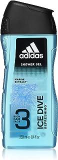 Adidas Sport Sensation Ice Dive 3 i 1 Duschgel för Män, 250 ml