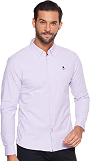 Giordano mens 01049043 Classic men stretchy oxford shirts