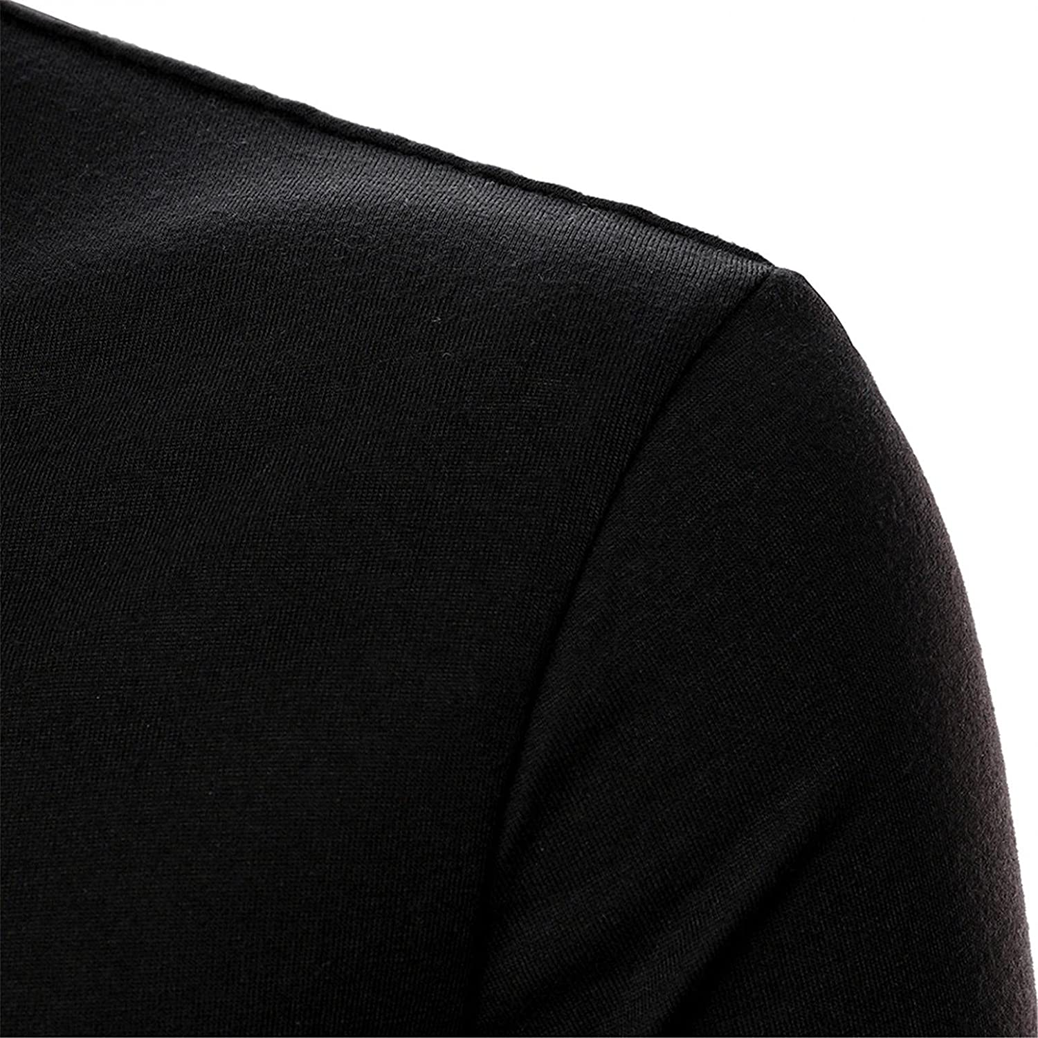 LEIYAN Mens Fashion Polo Shirts Long Sleeve Regular Fit Quarter Zip Athletic Outdoor Performance Tactical Tops