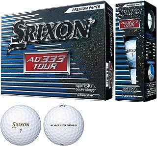 DUNLOP(ダンロップ) ゴルフボール SRIXON AD333 TOUR 1ダース(12個入り)