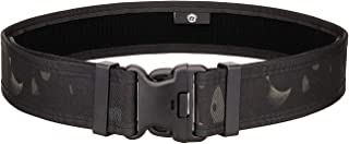 outdoor plus Police Duty Belt Tactical Belt -Mens Black Heavy Duty Nylon Military Belt Utility Belt Gun Belt with Quick Release Buckle for Concealed Carry Holsters Pouches EDC Survival Bag