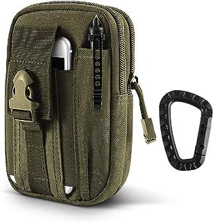 جراب AIRSSON Universal Tactical Molle Pouch EDC/EMT Gear أداة حزام في الهواء الطلق حقيبة الخصر منظم جيب مع حافظة للهاتف ال...