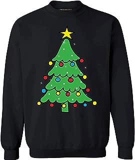 Unisex Christmas Tree Sweatshirt Lit Christmas Tree Sweater Christmas