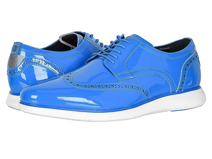 Florsheim  Fuel Neon Wingtip Oxford (Blue) Mens Shoes