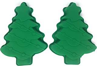 Christmas Tree Cake Pan 3D Silicone Christmas Baking Molds for Holiday Parties (2)