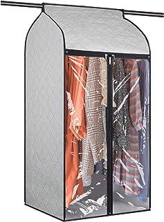 Univivi Housses de Vêtements Respirant (60 * 109cm),Protégez Les Vêtements des Insectes Tels Que Les Araignées,Housse de V...
