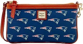 NFL New England Patriots Large Slim Wristlet