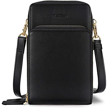 Women Small Crossbody Bag with RFID Anti Theft Credit Card Slots Cell Phone Purse