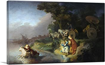 ARTCANVAS The Abduction of Europa 1632 Canvas Art Print by Rembrandt Van Rijn - 18