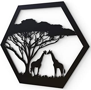 Leinwandbild Kunst-Druck 100x50 Bilder Tiere Giraffe mit Brille