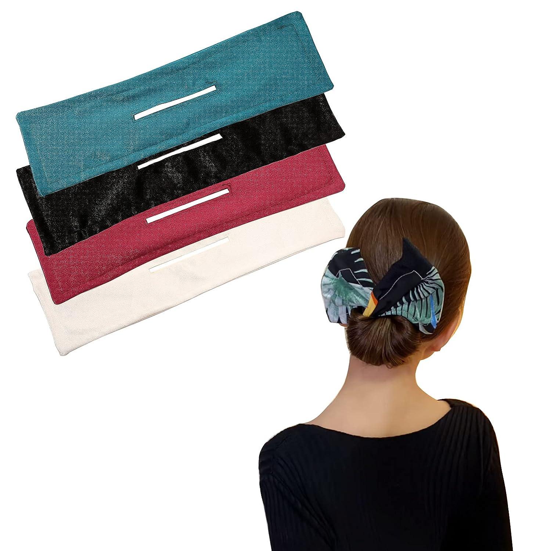 Year-end gift Deft Bun For Hair Fashion Women Summer Pri Headband Bands Mail order