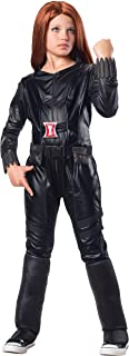 Rubies Marvel Comics Collection: Captain America: The Winter Soldier Deluxe Black Widow Costume, Child Medium