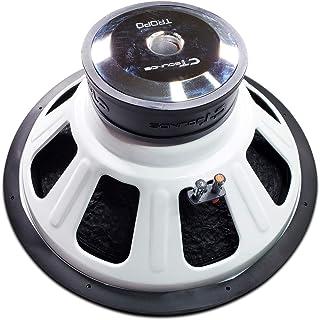 "CT SOUNDS 18 Inch Car Subwoofer - Dual 2 Ohm Impedance, 1200W Maximum Power Capacity, Versatile & Powerful Bass, 3"" Voice Coil, Rubber Surround for Car Stereo Sound System - Tropo 18 D2"