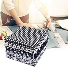 50X50Cm 8Pcs Small Folding Table, Unique and Beautiful Soft Cotton Comfortable Tablecloth, Distinctive Plant Printed Patte...