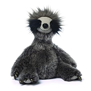 "GUND Roswel Sloth Stuffed Animal Plush Dark Gray, 15"""