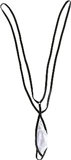 Esquki Mens Sexy Sheer Micro G String Thong