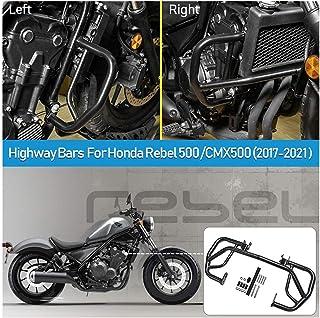 CMX500 Accessories Parts Motorcycle Motorbike Steel Engine Guard Bumper Highway Crash Bars Crashbar Body Frame Falling Pro...