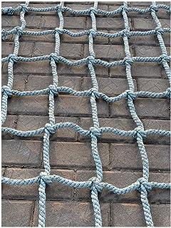 YXZQ Safety Net, Cargo Net Climbing,Tree Climbing Net Safety Playground Rock Rope Ladder Climb Netting Swing Sets Nylon Pl...