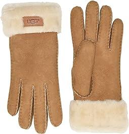 Turn Cuff Water Resistant Sheepskin Gloves