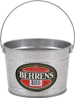Behrens B35 O6750962 Galvanized Steel Paint Pail, 5 Quart, Silver