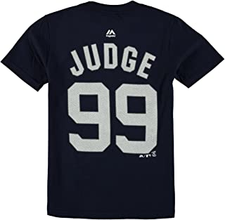 Majestic Aaron Judge New York Yankees #99 MLB Youth Player T-shirt
