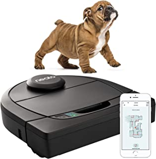 Neato Robotics D450, Cleaner Pack, Corner Cleaning Robot Vacuum with D-Shape + Exclusive Pet Accessories for Carpet and Ha...
