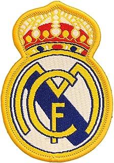 Real Madrid C.F.Parche para coser o pegar con la plancha, diseño de escudo del FC Barcelona.