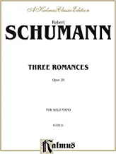 Three Romances, Op. 28 (Kalmus Edition)