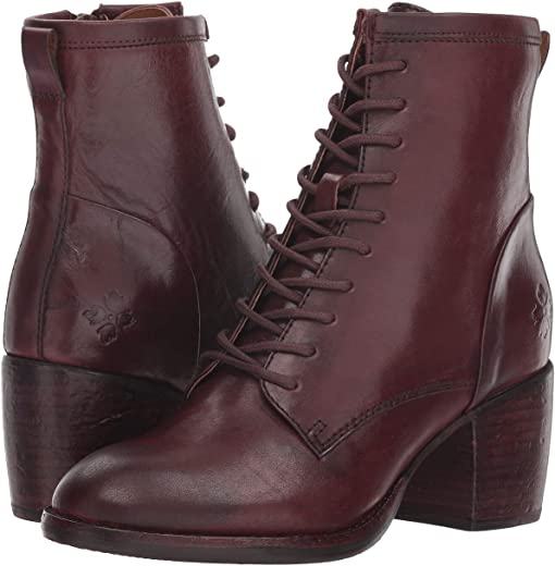Merlot Hand Stained Leather