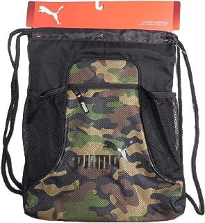 e92633900f PUMA EVERCAT EQUINOX Carrysack Drawstring Gym Bag - Black CAMO