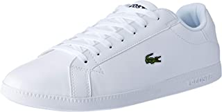Lacoste Men's Graduate BL 1 Fashion Shoes, WHT/WHT