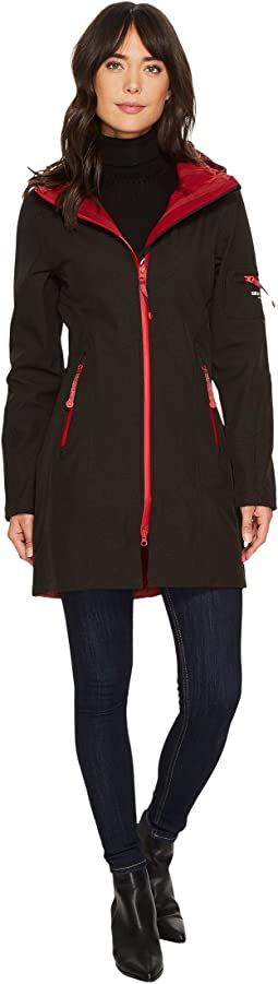 3/4 Length Two-Tone Coat