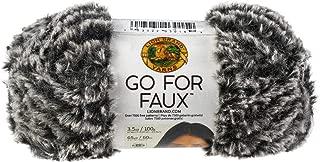 Lion Brand Yarn Go for Faux Yarn-Mink