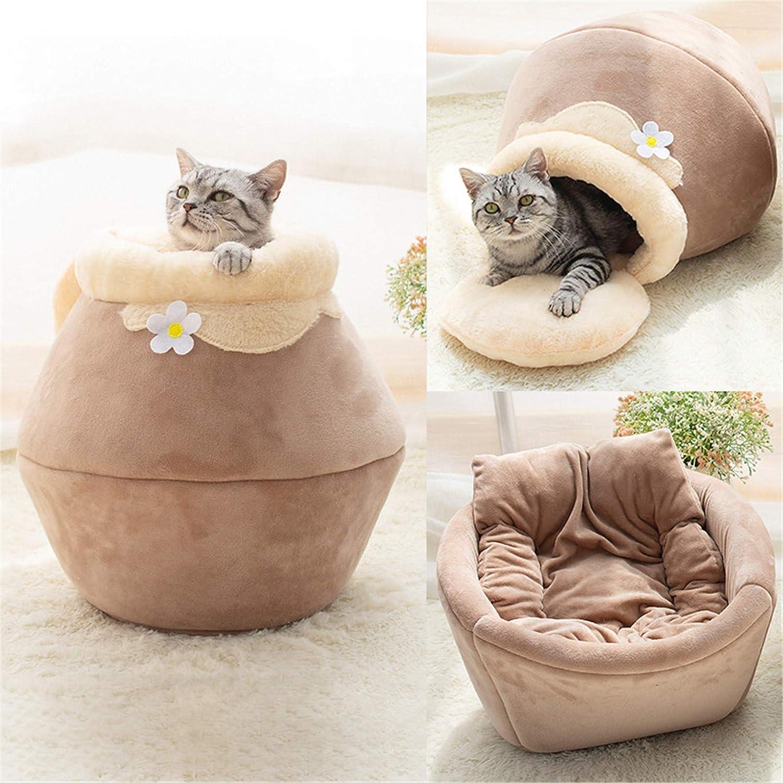 ZGBQ 3in1 cat El Paso Mall Cushion Warm Cute Plush Foldable Soft Bed Max 82% OFF
