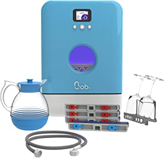 Bob le mini lave-vaisselle Made in France Pack Premium Bleu Maya
