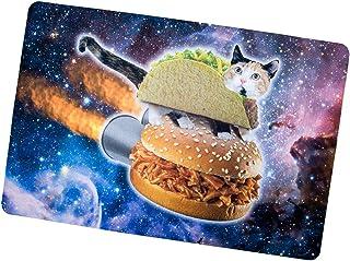 Cat in Space Hamburger Doormats/Entrance Rug Floor Mats